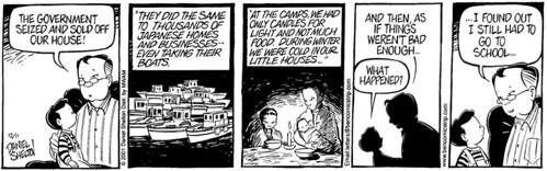 Japanese internment camp cartoon