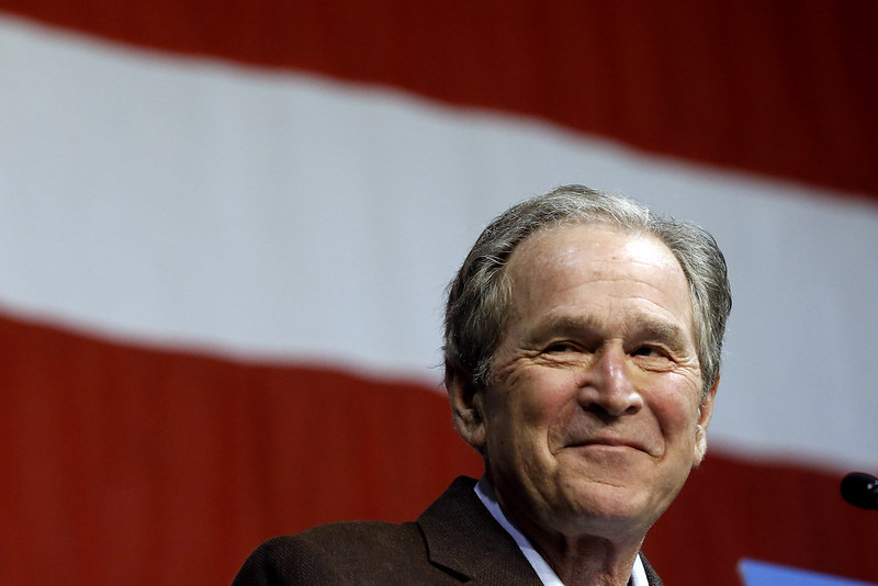 Wikipedia: Artikel über George W. Bush