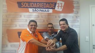 Vereador de Barretos se filia ao Solidariedade