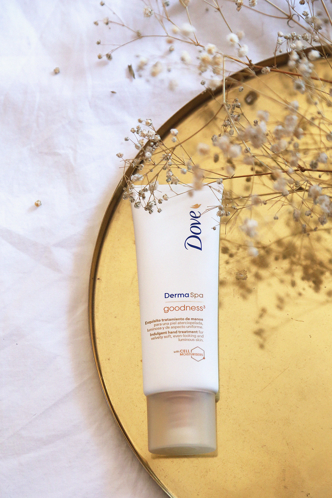 dove dermaspa crema de manos nutritiva goodness jessie chanes seams for a desire 4
