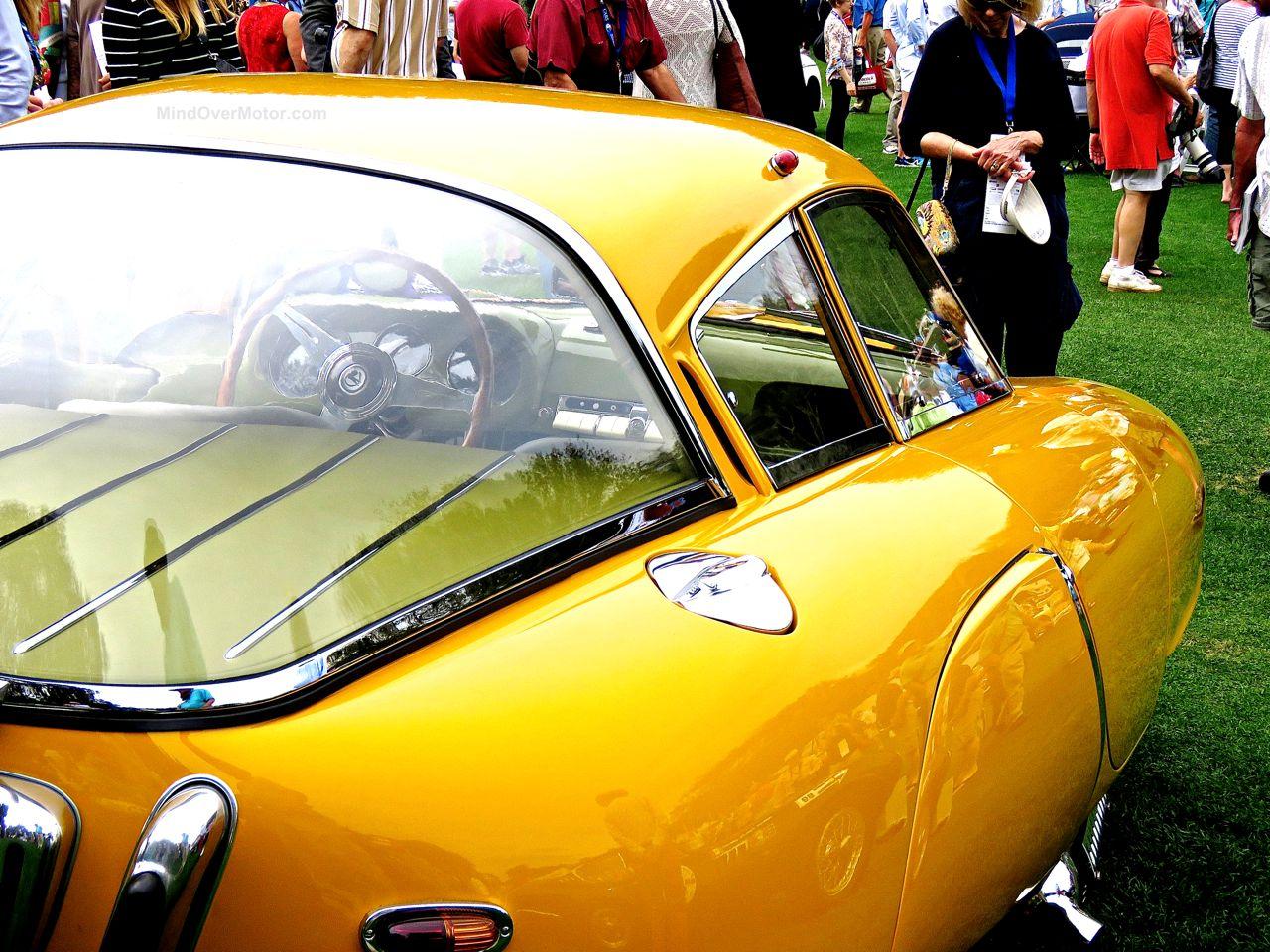 1952 Pegaso Z-102 Cupula Coupe Amelia Island 11