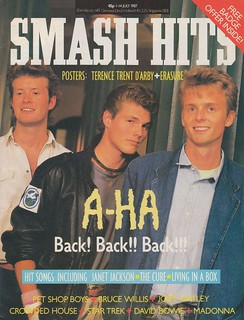Smash Hits, July 1, 1987 – p.01