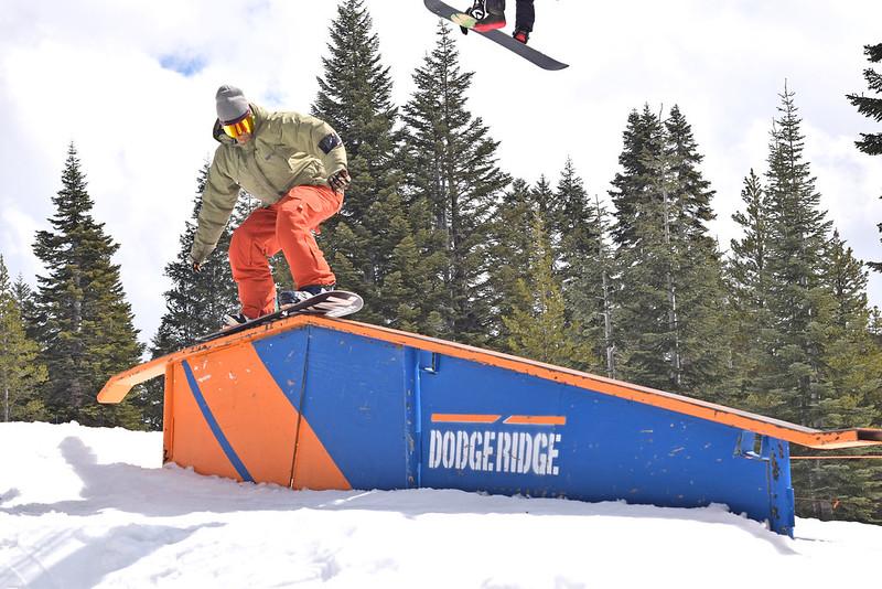 Dodge Ridge Terrain Parks