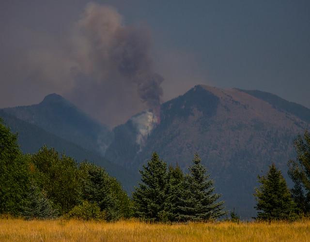 Eureka Montana Forest Fire