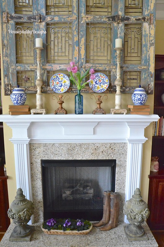 Spring Mantel - Housepitality Designs