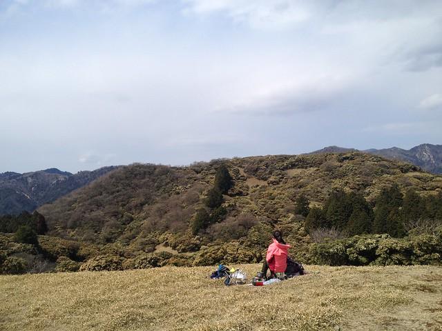 入道ヶ岳 山頂から奥宮