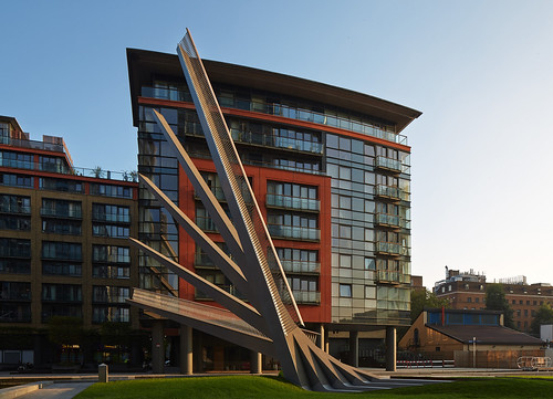 Knight Architects - Merchant Square Footbridge