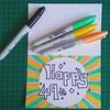 Birthday card 49th