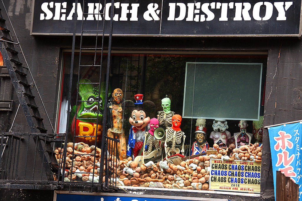 SEARCH AND DESTROY store at St Mark's Place--New York 2