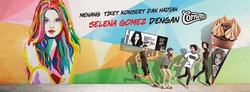 Selena Gomez di Malaysia