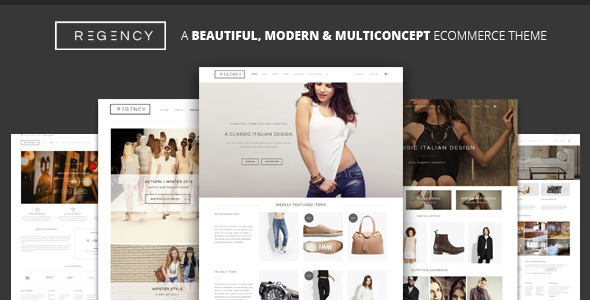 Regency v1.4.0 - A Beautiful & Modern Ecommerce Theme