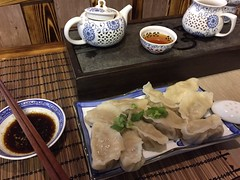 Tea and dumplings