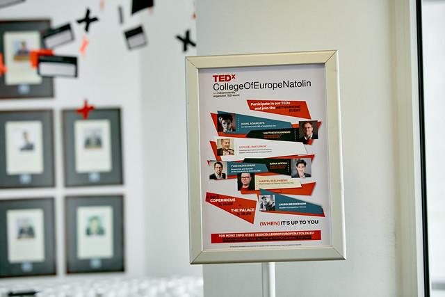TEDxCollegeOfEuropeNatolin 6/04/2016