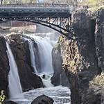Great Paterson Falls from park southern platform