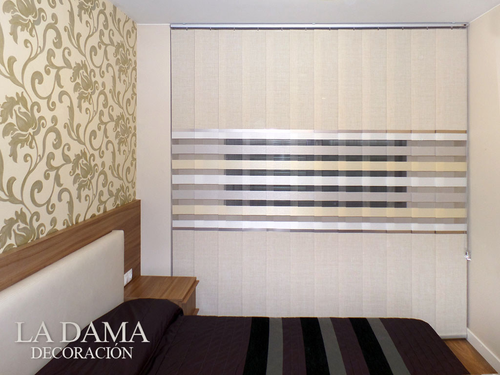 Fotograf as de dormitorios modernos la dama decoraci n for Cortinas y estores para dormitorios