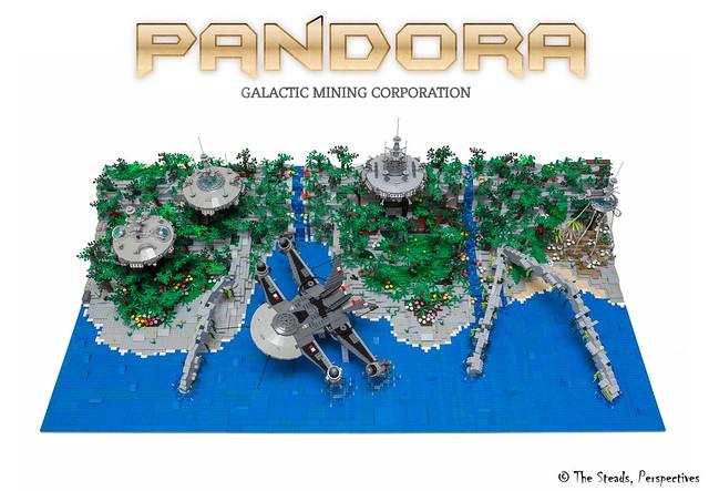 Pandora Diorama MOC - 3
