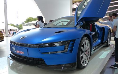 VW VOLKSWAGEN XL Sport 2015 blue vlt