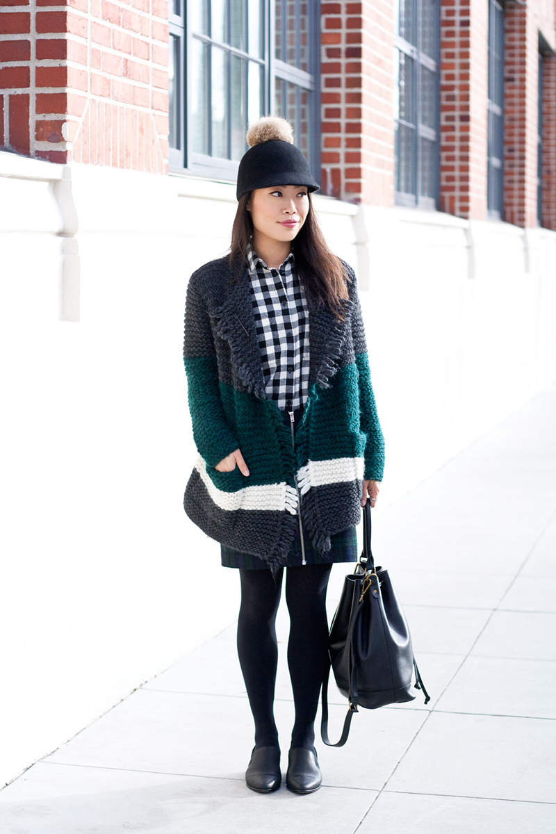 05madewell-checkers-tartan-sweater-pompom-hat-sf-fashion