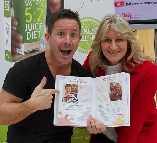Juicing with Jason Vale #juicemaster