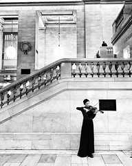 Minimal music in Grand Central