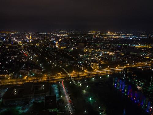 Luftbilder: Dortmund at night