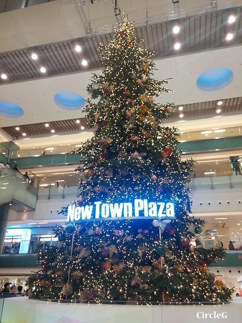 NEW TOWN PLAZA SHA TIN HONGKONG 沙田 新城市廣場 2015 CIRCLEG 聖誕裝飾 (1)