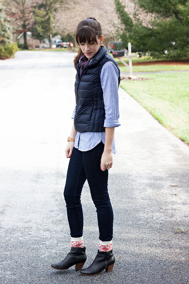 Navy Layers - Jeans and a Teacup