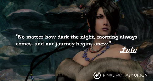 Inspirational Final Fantasy Quotes
