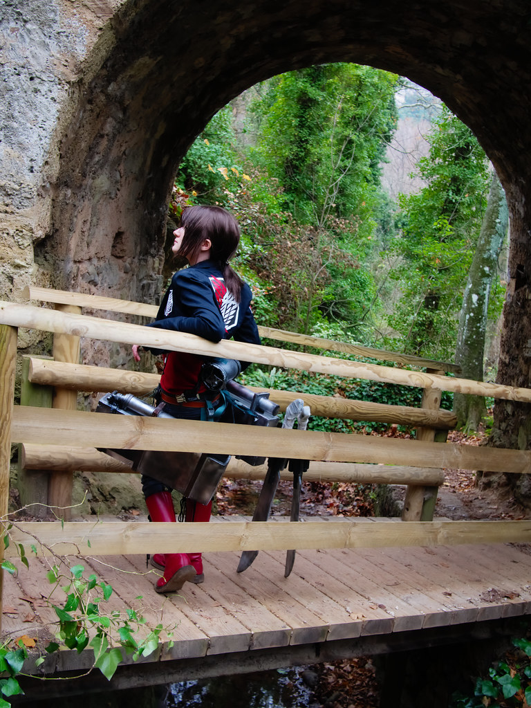related image - Shooting Shingeki no Kyojin - Parc de Saint Pons - Gemenos - 2015-12-19- P1260315
