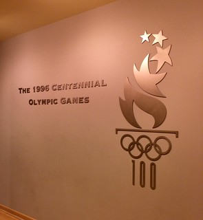 Atlanta - Atlanta History Center - Museum - 1996 Centennial Olympic Games - Entrance