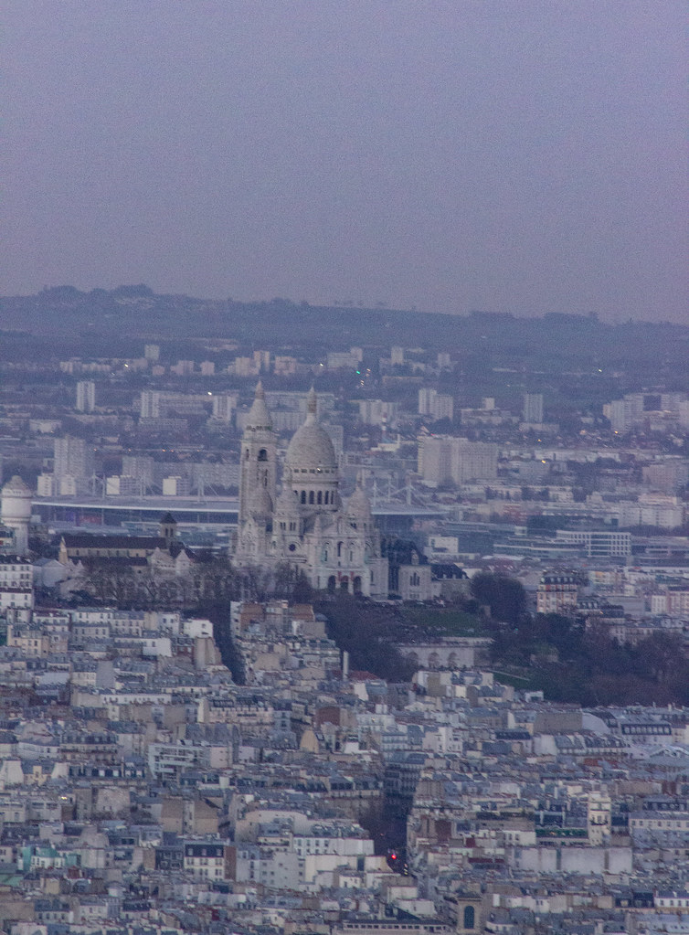 Sunset over Sacre Coeur