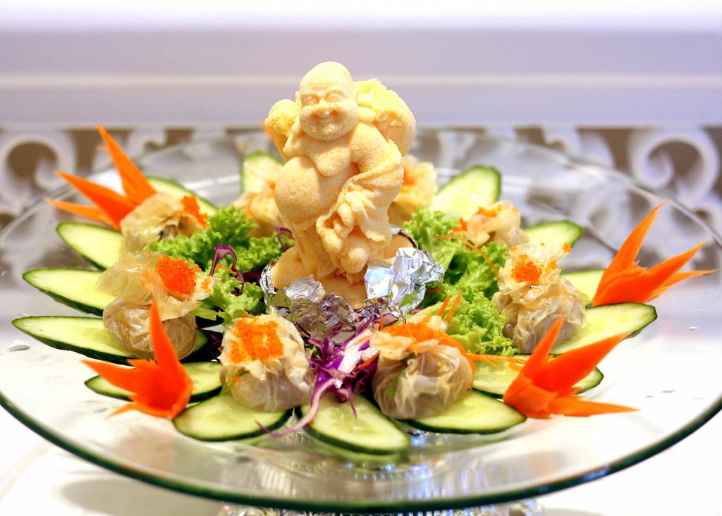 Fu Lin Men Dou Lao: Fresh Beancurd Pocket With Fresh Seafood Paste