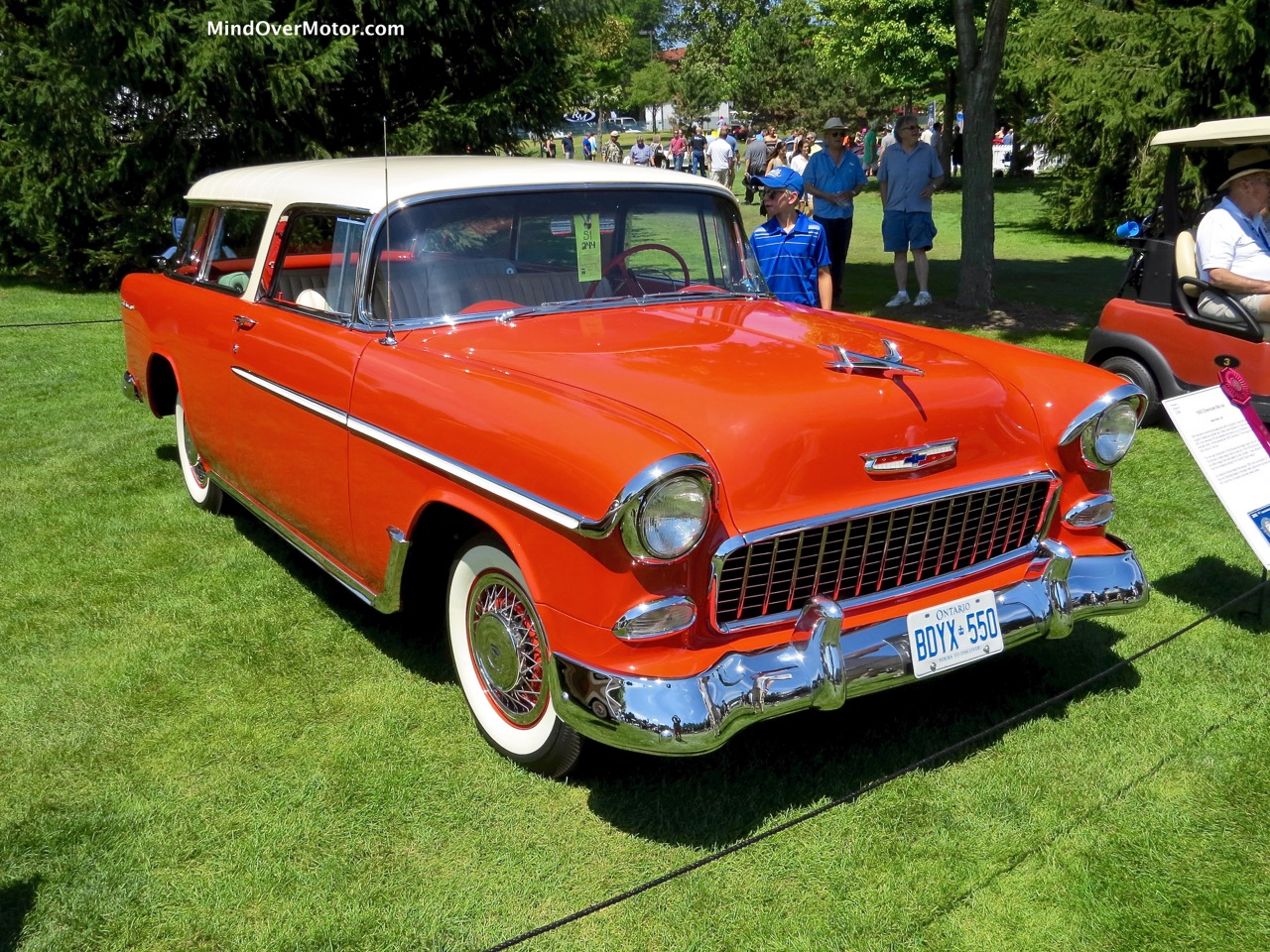 1955 Chevrolet Nomad Front