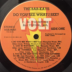 THE BAR-KAYS:DO YOU SEE WHAT I SEE?(LABEL SIDE-A)
