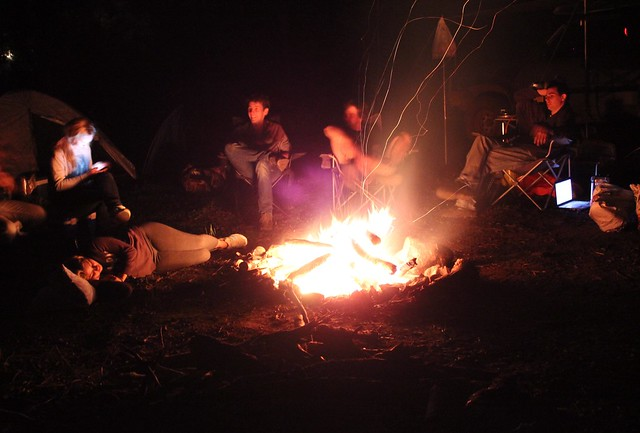 Campfire in the High Country