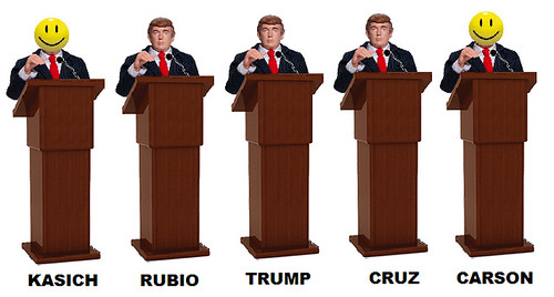 GOP Debate: 3-Way Race to the Bottom