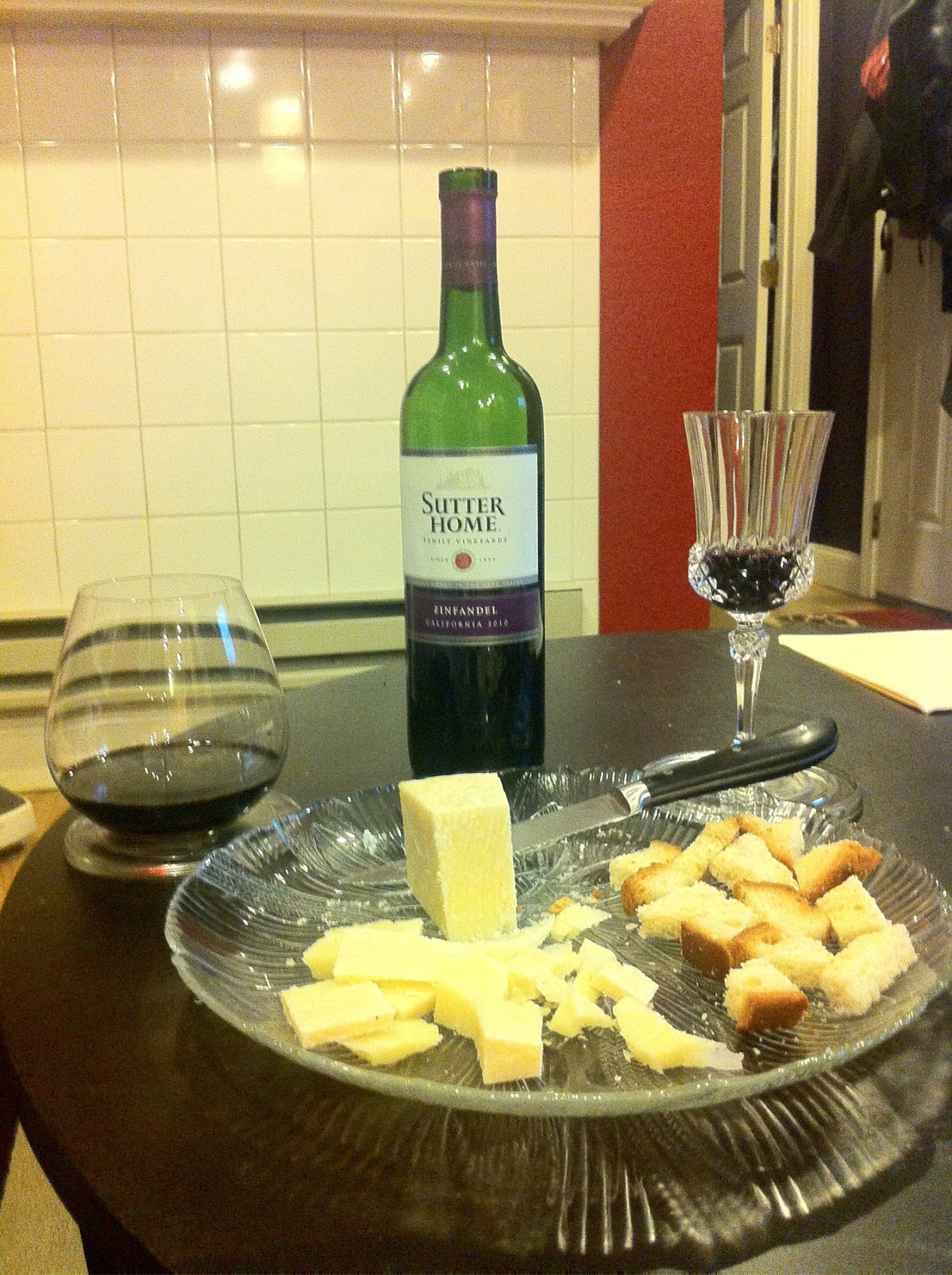 Zinfandel and Pecorino 1