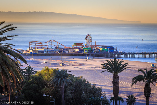 Santa Monica Sunrise