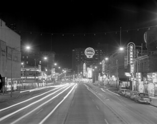 Jasper Avenue looking east, Edmonton