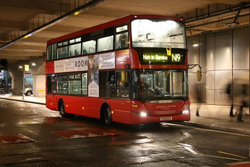 Last Night Bus to Airport