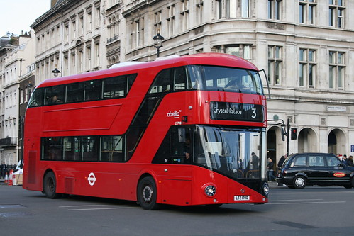 Abellio London LT700 on Route 3, Westminster