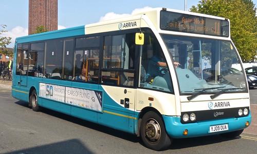 YJ09 MJF Arriva Midlands Optare Solo.