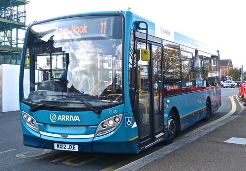 MX12 JXE Arriva Midlands Alexander Dennis Ltd. Enviro E20D.