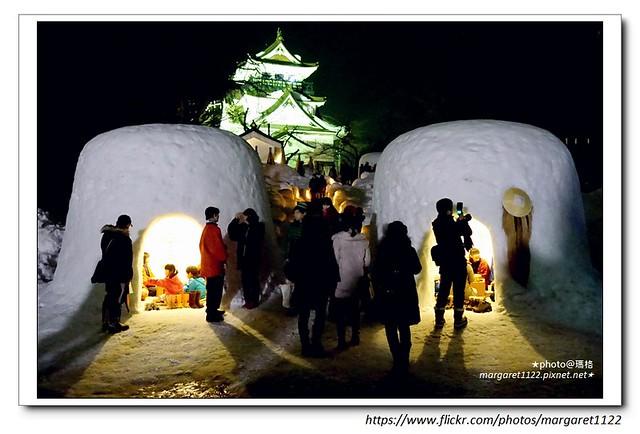 【秋田冬季祭典】橫手雪屋祭