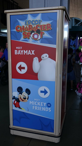 Epcot Character Spot in Epcot with Baymax (7)