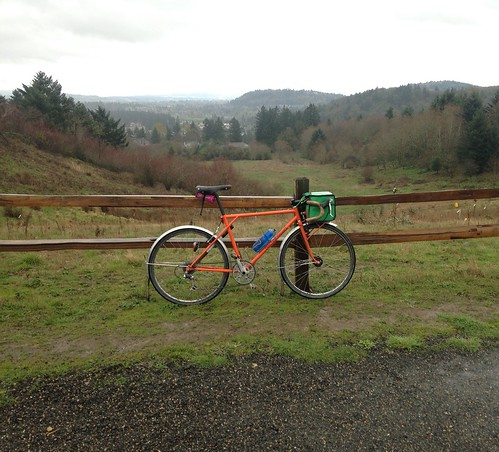 A rainy day on Powell Butte