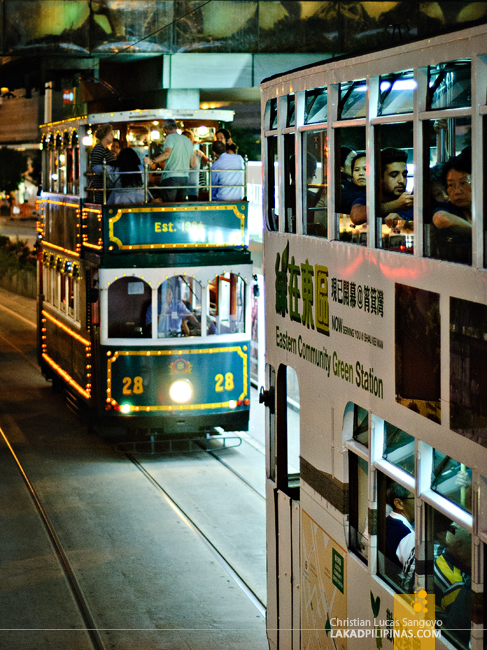 Hong Kong Tourist Tram
