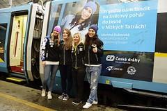 Zvýhodněné vlakové jízdenky a vstup do fan zóny na SP Jasná