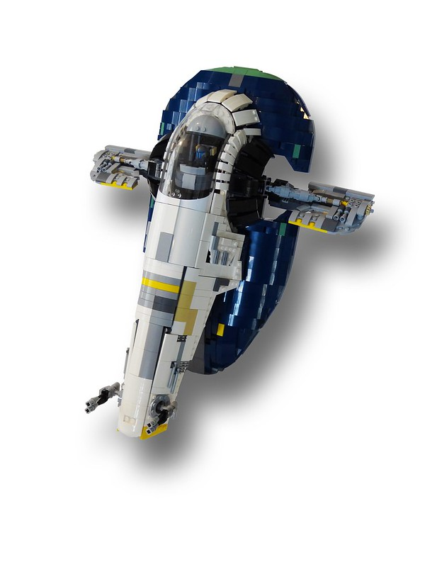 Moc Ucs Jango Fetts Slave 1 Instructions Lego Star Wars