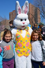 Kaela & The Easter Bunny & Grace